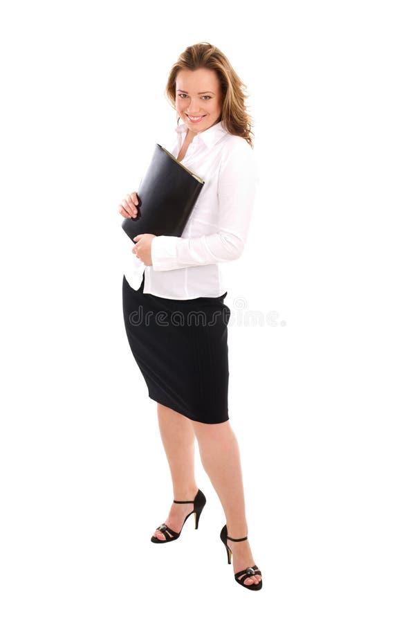 Femme réussie debout d'affaires photo libre de droits