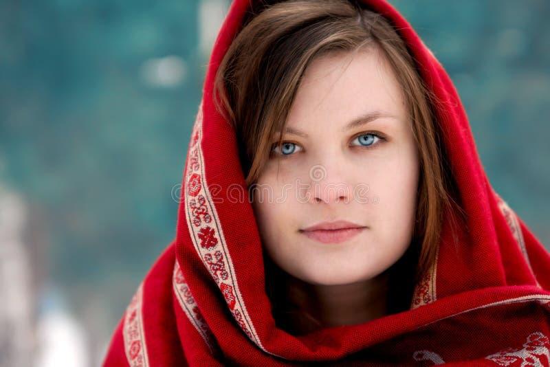 Femme russe images libres de droits