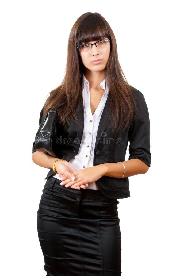 Femme sérieuse d'affaires. photo stock
