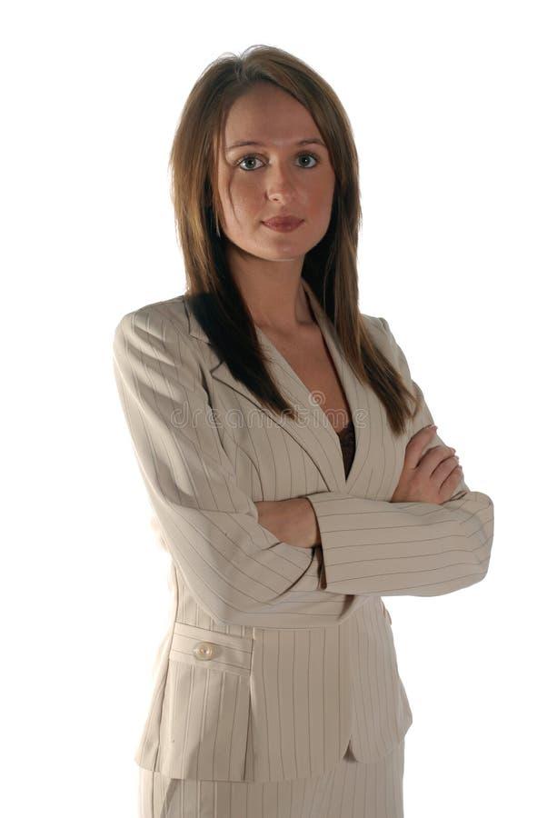 Femme sérieuse d'affaires photos libres de droits