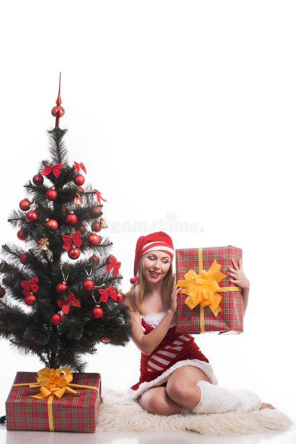 Femme Santa photos libres de droits