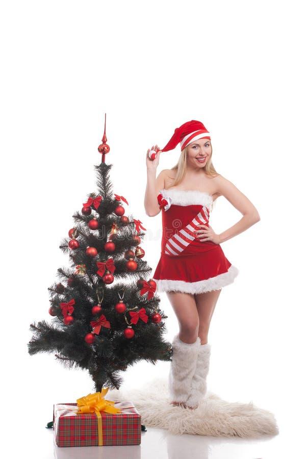 Femme Santa photos stock