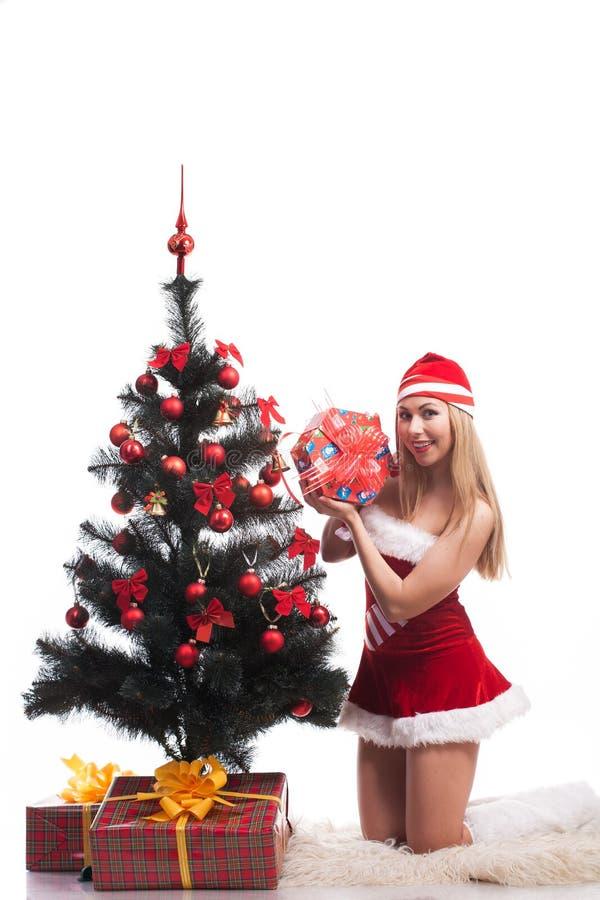 Femme Santa images libres de droits