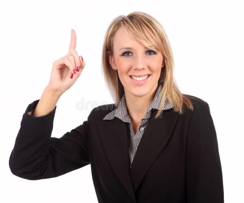 Femme se dirigeant vers le haut image libre de droits