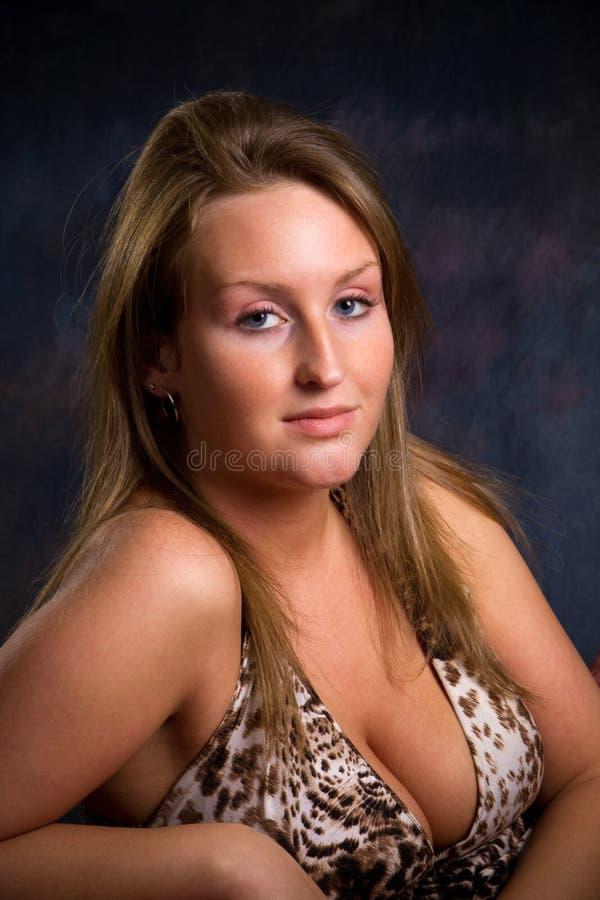 Femme sexy attirante photographie stock libre de droits