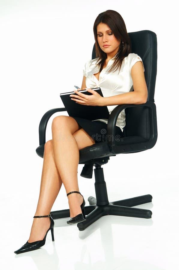 Femme sexy d'affaires photographie stock