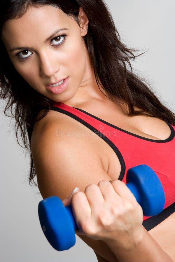 Femme sexy de forme physique photos libres de droits