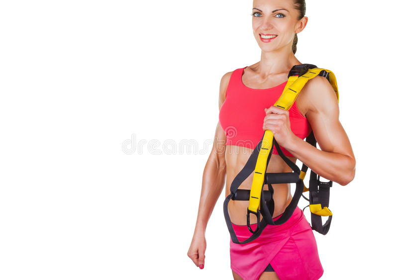 Femme sportive images stock