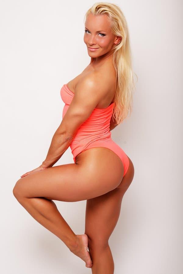 Femme sportive sexy image libre de droits