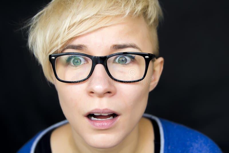 Femme stunned photo stock