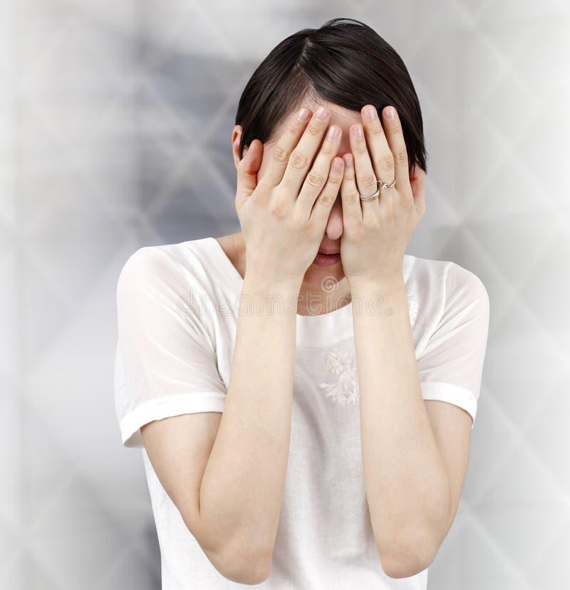 Femme triste images libres de droits