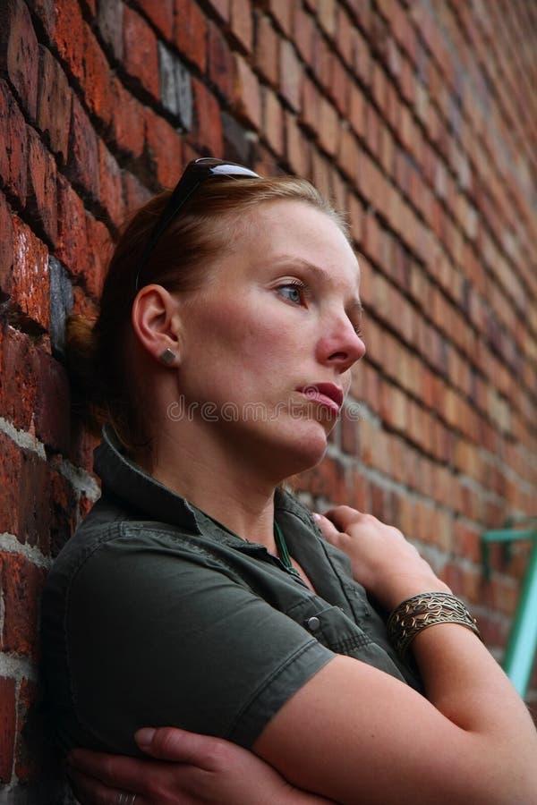 Femme triste photos stock
