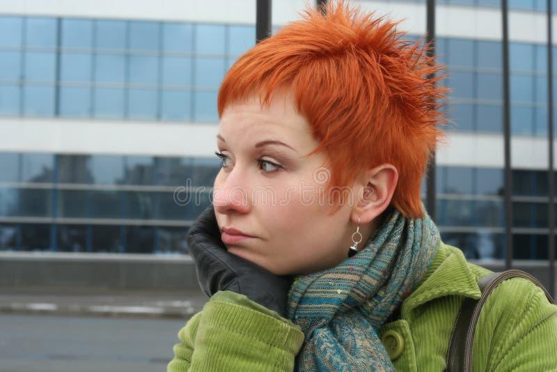 Femme triste et seule photos stock