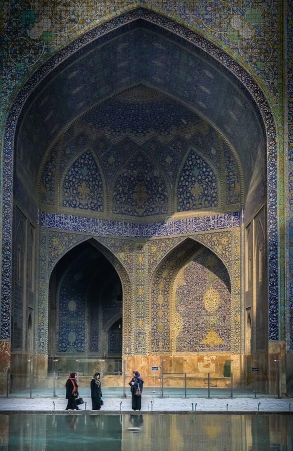 Femmes à la mosquée photo stock