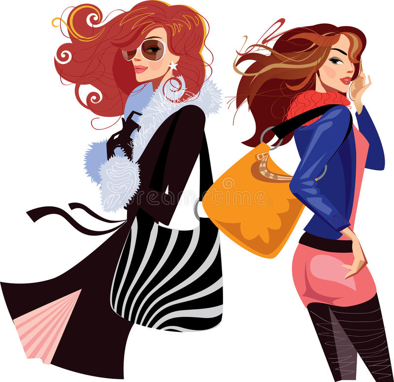 Femmes illustration stock
