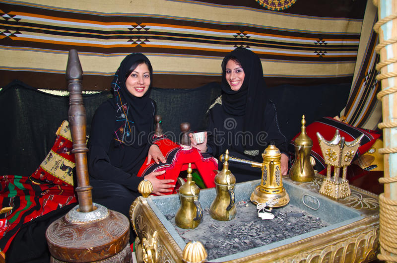 Femmes arabes photo stock