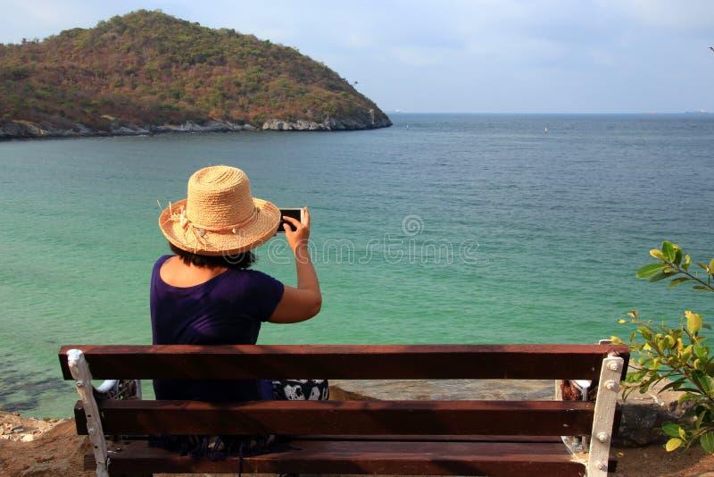 Femmes asiatiques de touristes photo libre de droits
