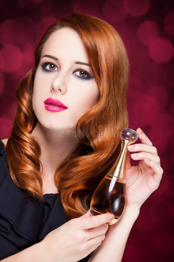 Femmes avec le parfume images libres de droits