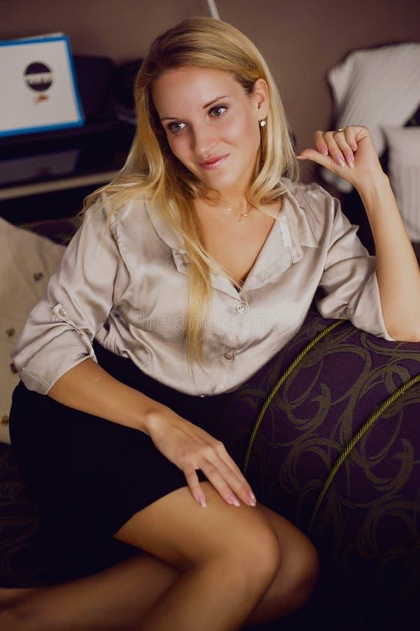 Femmes blondes image stock
