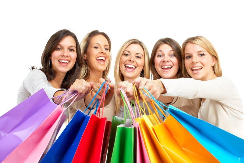 Femmes d'achats photo stock