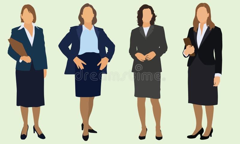 Femmes d'affaires illustration stock