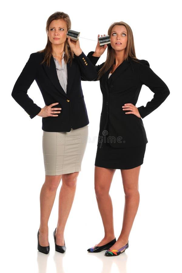 Femmes d'affaires ayant la communication de problèmes photos libres de droits
