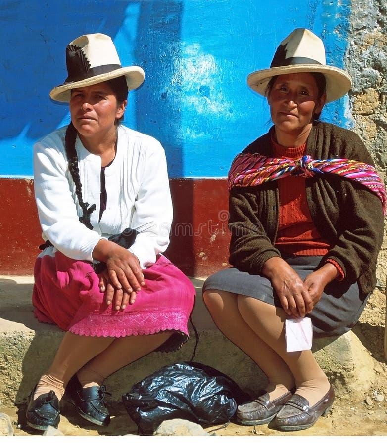 Femmes d'Amerindian photos stock
