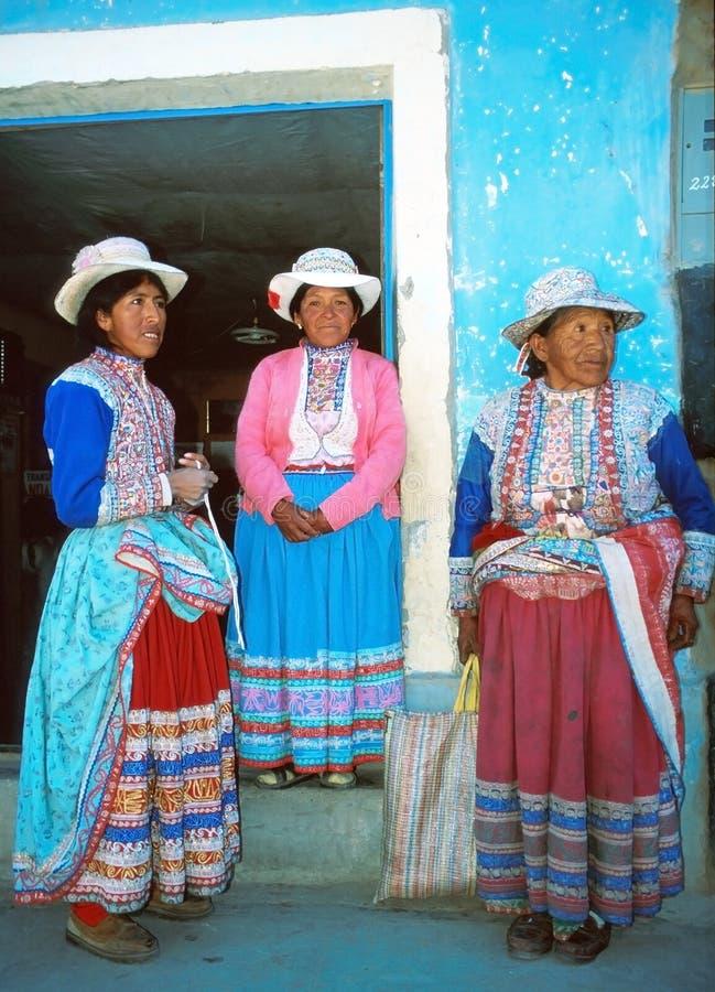 Femmes d'Amerindian photos libres de droits