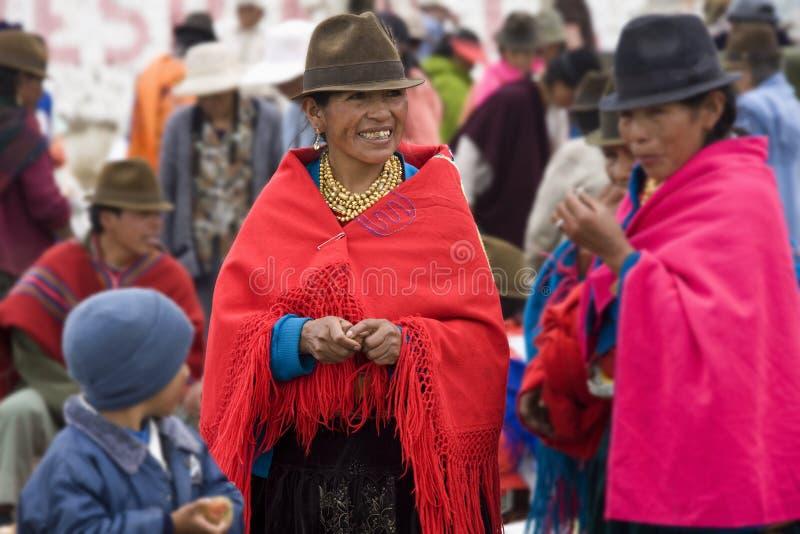 Femmes d'Ecuadorian - Equateur photo libre de droits