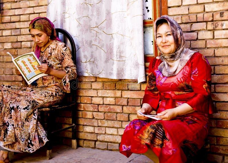 Femmes d'Uighur photos stock