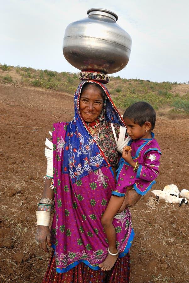 Femmes de Banjara en Inde image libre de droits