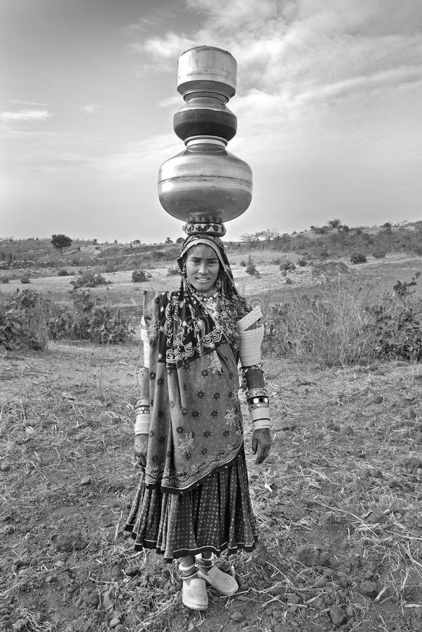 Femmes de Banjara en Inde photo stock