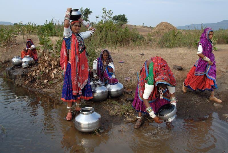 Femmes de Banjara en Inde photographie stock