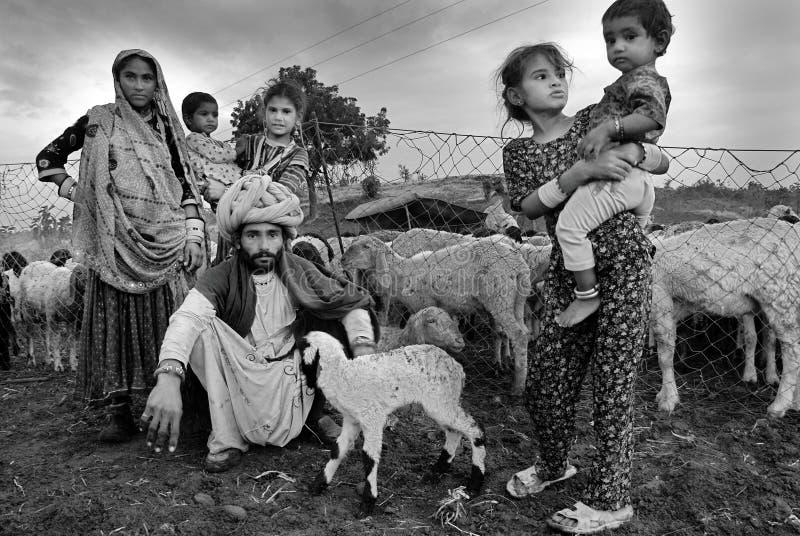 Femmes de Banjara en Inde photos libres de droits