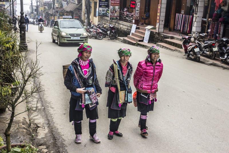 Femmes de la tribu de Pho images stock