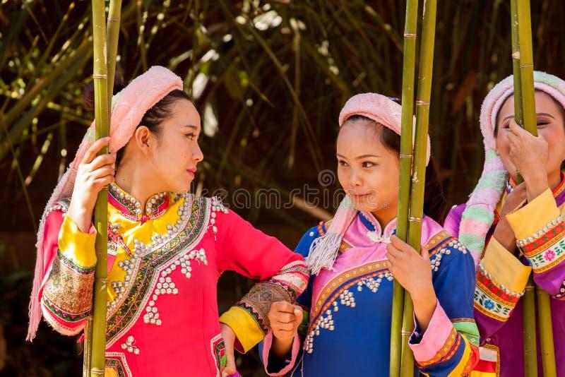 Femmes de Lahu photographie stock