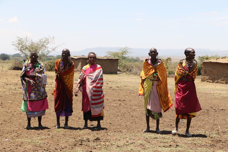 Femmes de Massai photographie stock