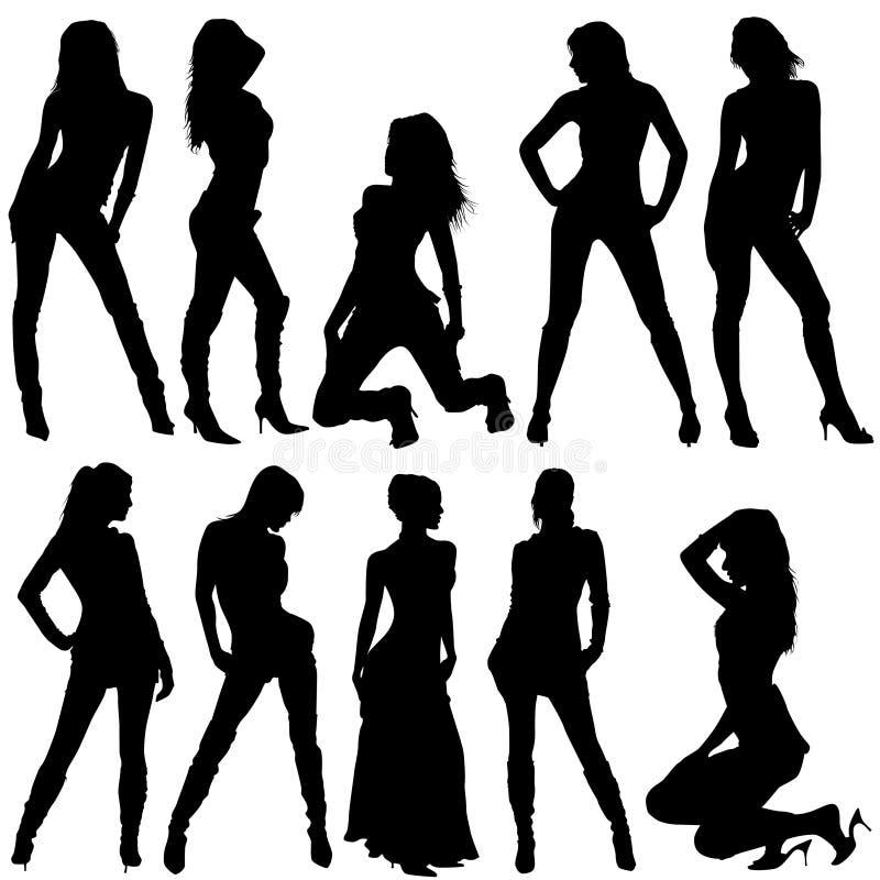 Femmes de mode illustration stock