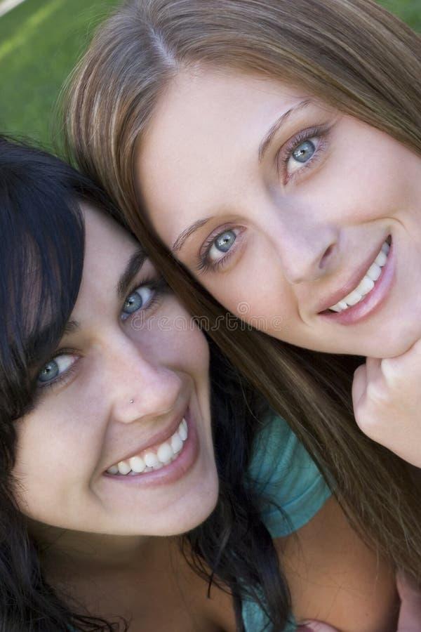 Femmes de sourire photo stock