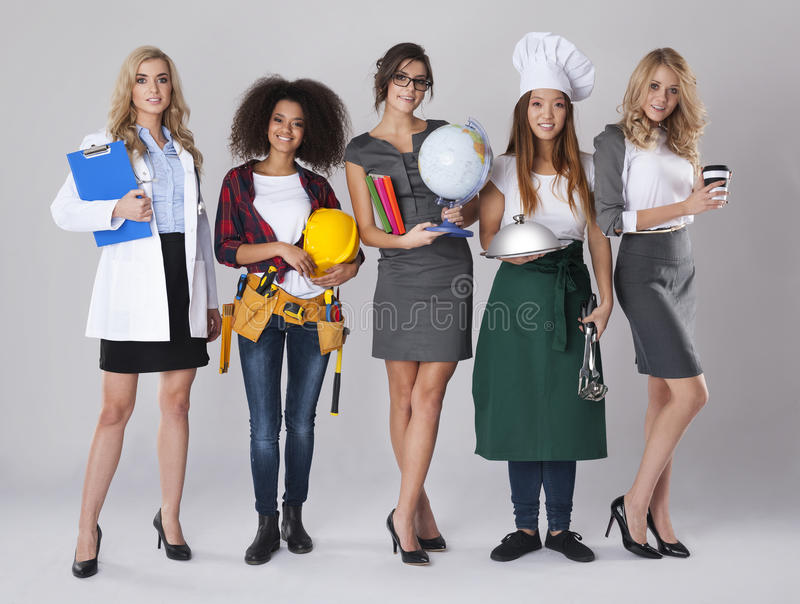 Femmes ethniques multi images stock