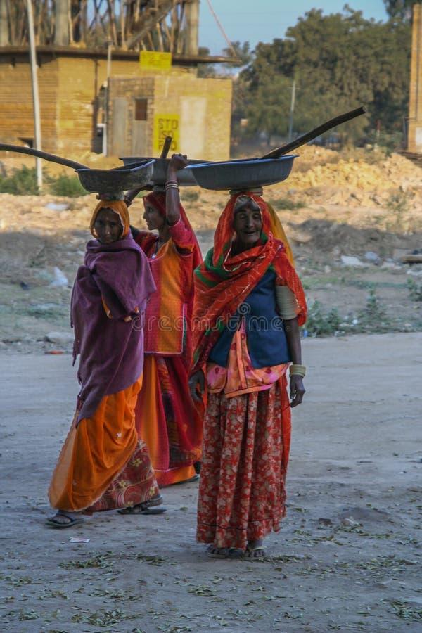 Femmes indiennes images libres de droits