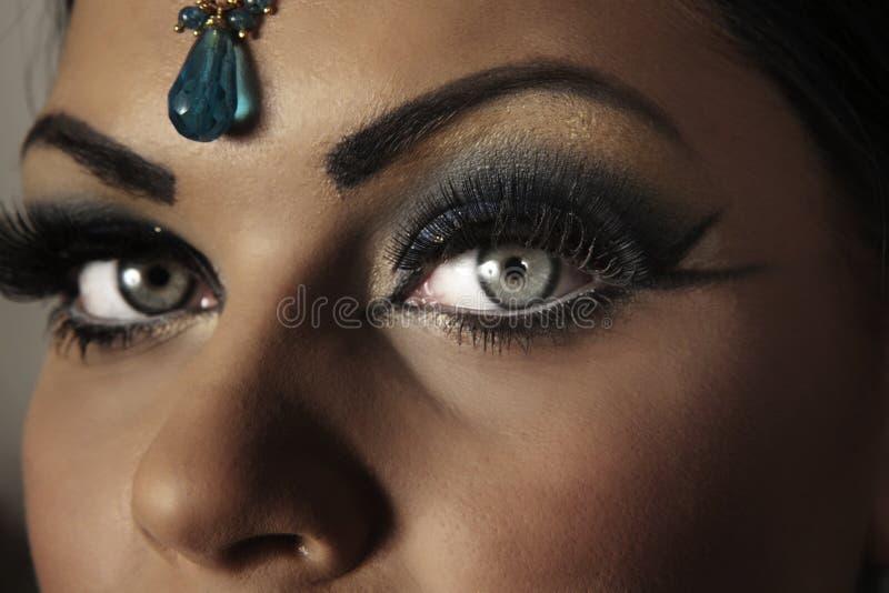 Femmes indiens image stock