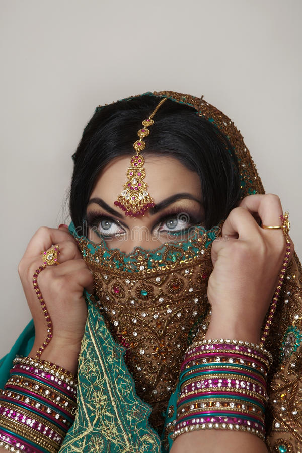 Femmes indiens images stock