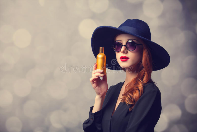 Femmes rousses de style photo stock
