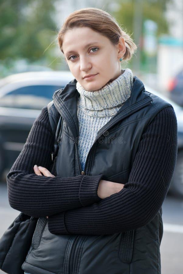 Femmes sur une rue photo libre de droits