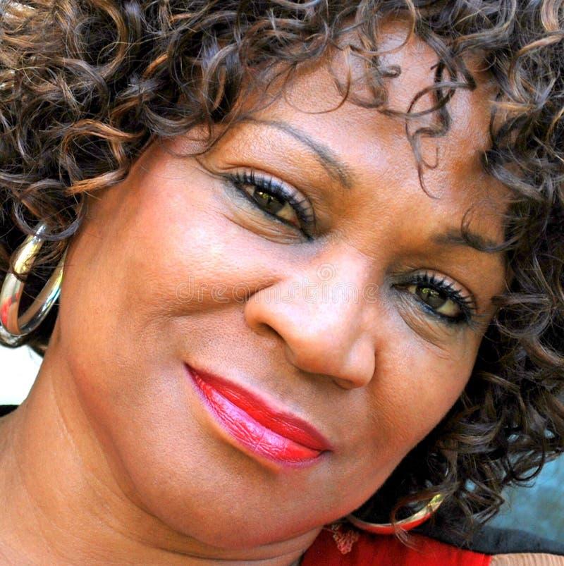 Femmina afroamericana fotografia stock libera da diritti