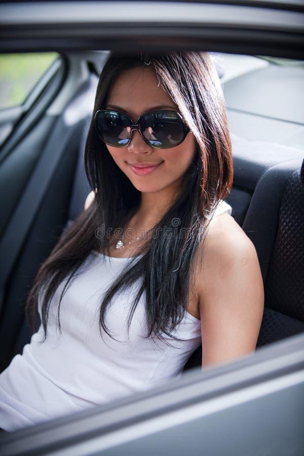 Femmina asiatica 1 fotografia stock libera da diritti