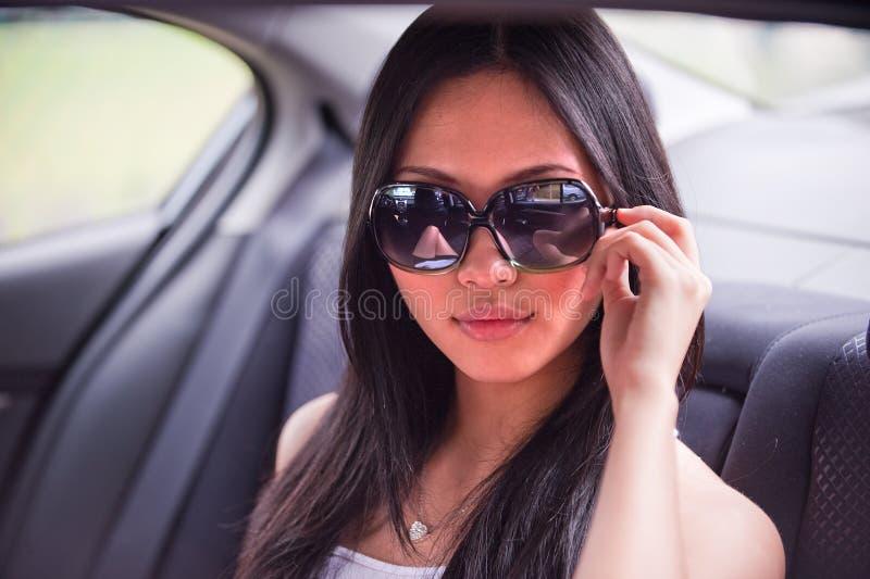 Femmina asiatica 3 fotografie stock libere da diritti