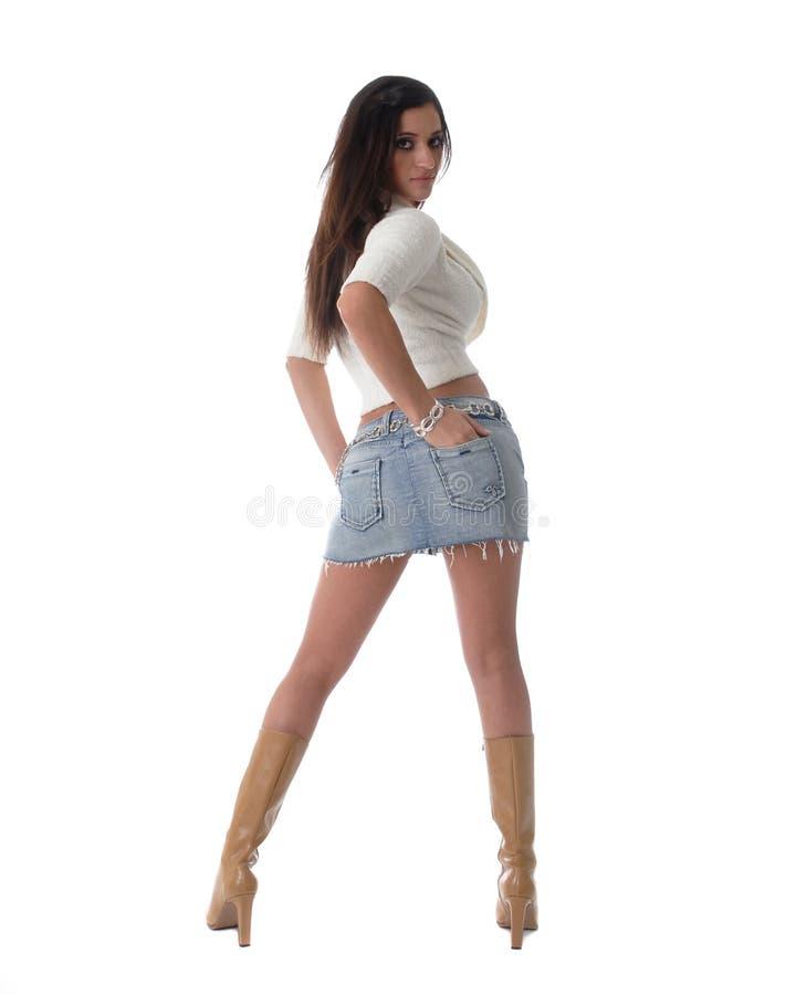 Femmina attraente immagine stock