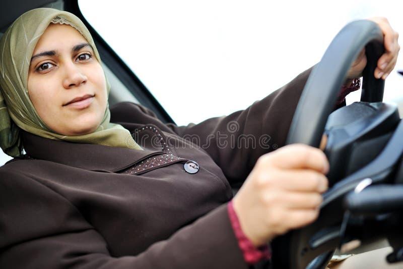 Femmina del Medio-Oriente musulmana fotografia stock